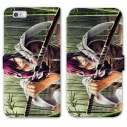 RV Housse cuir portefeuille Iphone 8 Manga - divers