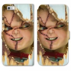 RV Housse cuir portefeuille Iphone 8 Horreur