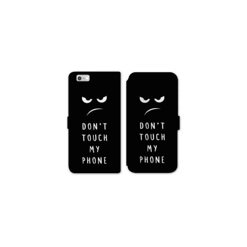 Rv housse cuir portefeuille iphone 8 humour for Housse iphone 8