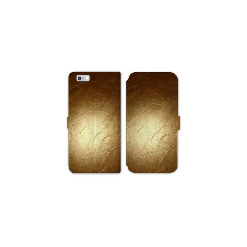 Rv housse cuir portefeuille iphone 8 texture for Iphone housse cuir