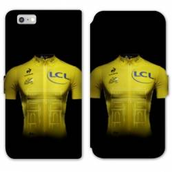 RV Housse cuir portefeuille Iphone 8 Cyclisme