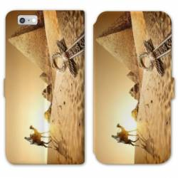 RV Housse cuir portefeuille Iphone 8 Egypte