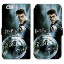 RV Housse cuir portefeuille Iphone 8 WB License harry potter C