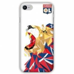 coque pour iphone 8 8 plus license olympique lyonnais ol lion color