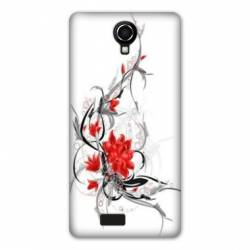 coque Wiko jerry2 / jerry 2 fleurs