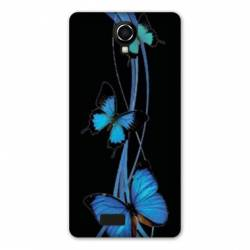 coque Wiko jerry2 / jerry 2 papillons