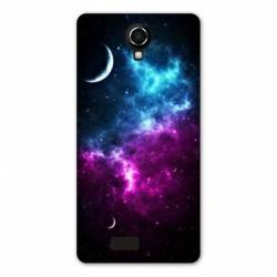 coque Wiko jerry2 / jerry 2 Espace Univers Galaxie