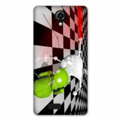 coque Wiko jerry2 / jerry 2 apple vs android