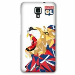 coque Wiko jerry2 / jerry 2 License Olympique Lyonnais OL - lion color