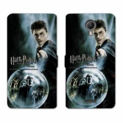RV Housse cuir portefeuille Wiko jerry2 / jerry 2 WB License harry potter C