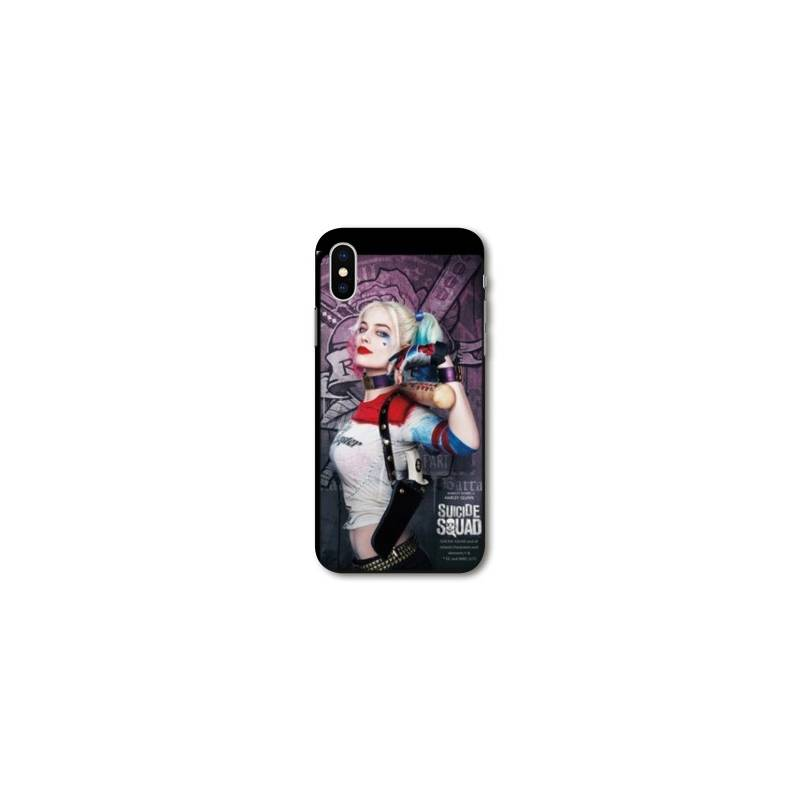 Coque Iphone X WB Licence Harley Quinn
