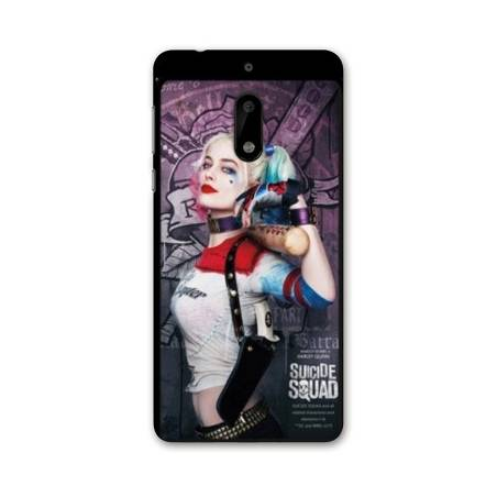 Coque Nokia 6 - N6 WB Licence Harley Queen