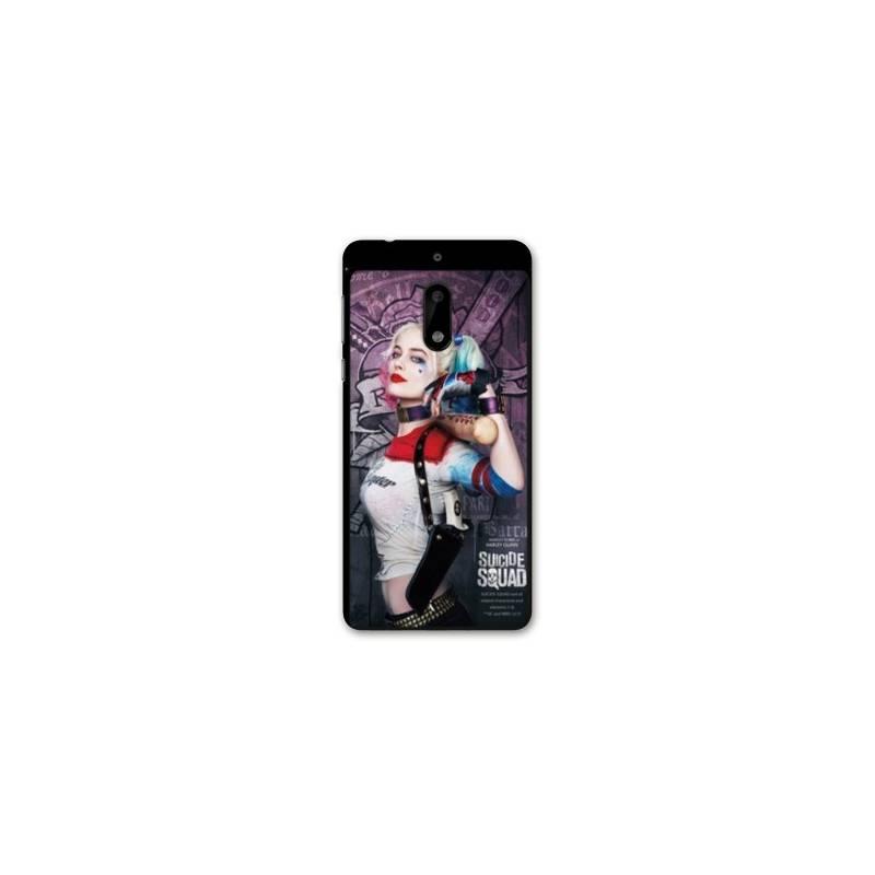 Coque Nokia 6 - N6 WB Licence Harley Quinn