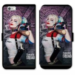 RV Housse cuir portefeuille Iphone 8 WB Licence Harley Queen