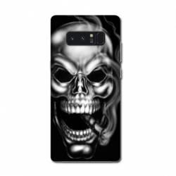 Coque Samsung Galaxy Note 8 tete de mort