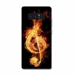 Coque Samsung Galaxy Note 8 Musique
