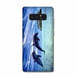 Coque Samsung Galaxy Note 8 animaux
