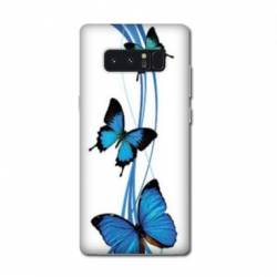 Coque Samsung Galaxy Note 8 papillons