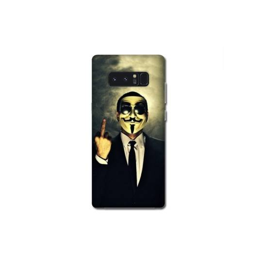 Coque Samsung Galaxy Note 8 Anonymous