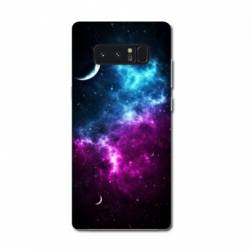 Coque Samsung Galaxy Note 8 Espace Univers Galaxie