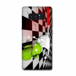 Coque Samsung Galaxy Note 8 apple vs android