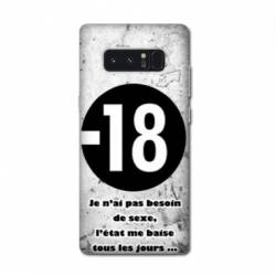 Coque Samsung Galaxy Note 8 Humour