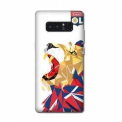 Coque Samsung Galaxy Note 8 License Olympique Lyonnais OL - lion color