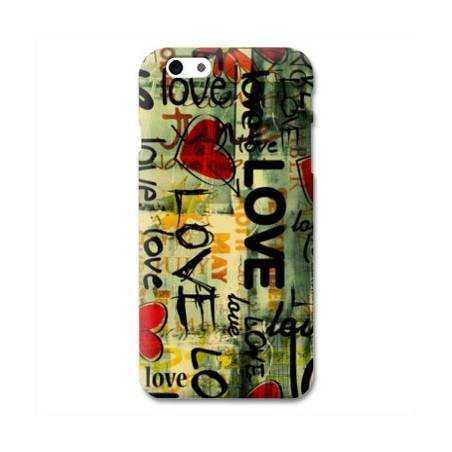 Coque Iphone 6 plus + amour