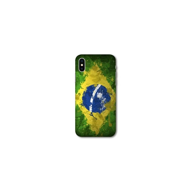 Coque pour iphone X / XS Bresil