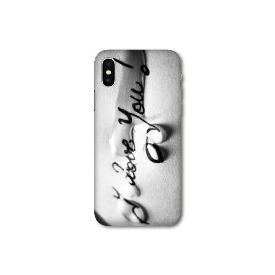 Coque Iphone X / XS amour