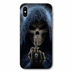 Coque Iphone X tete de mort