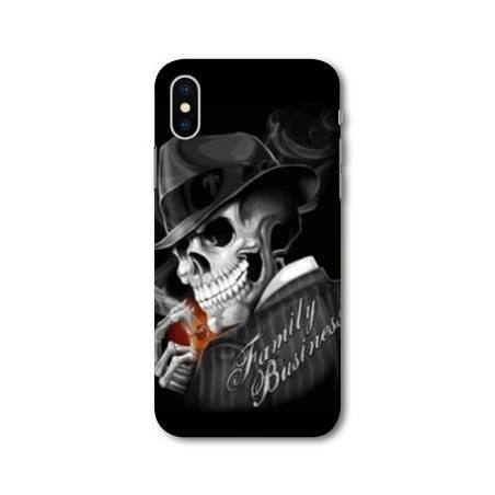 Coque Iphone X tete de mort