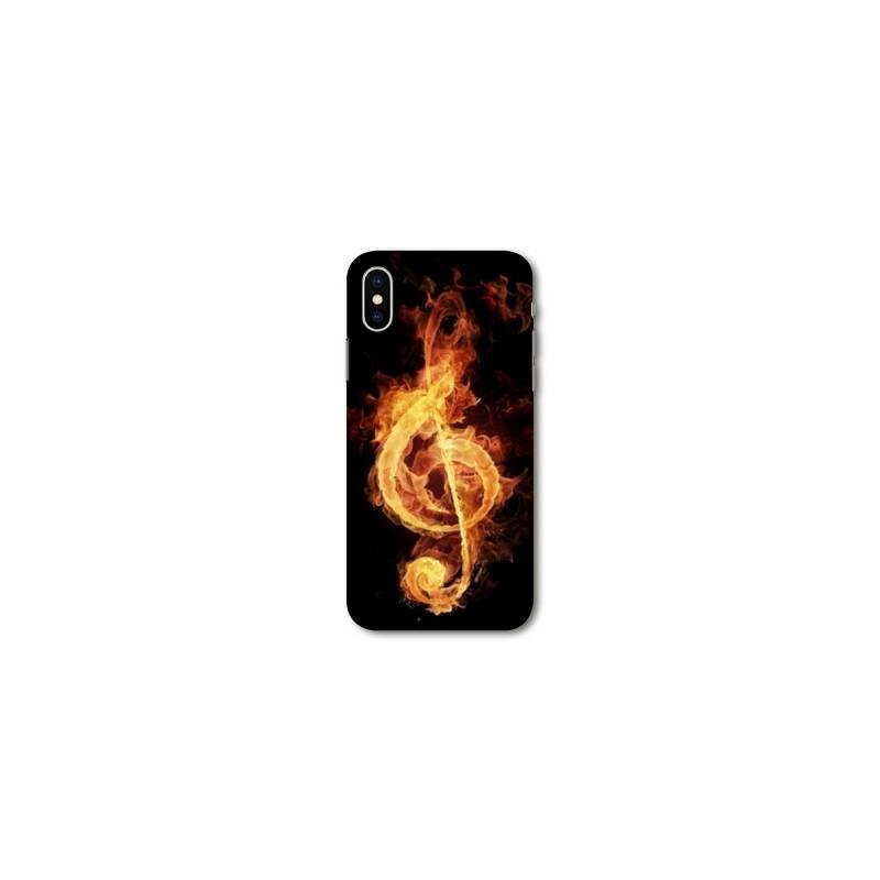 iphone x coque musique