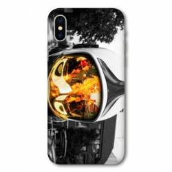 Coque Iphone X pompier police