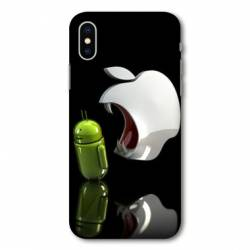 Coque Iphone X apple vs android
