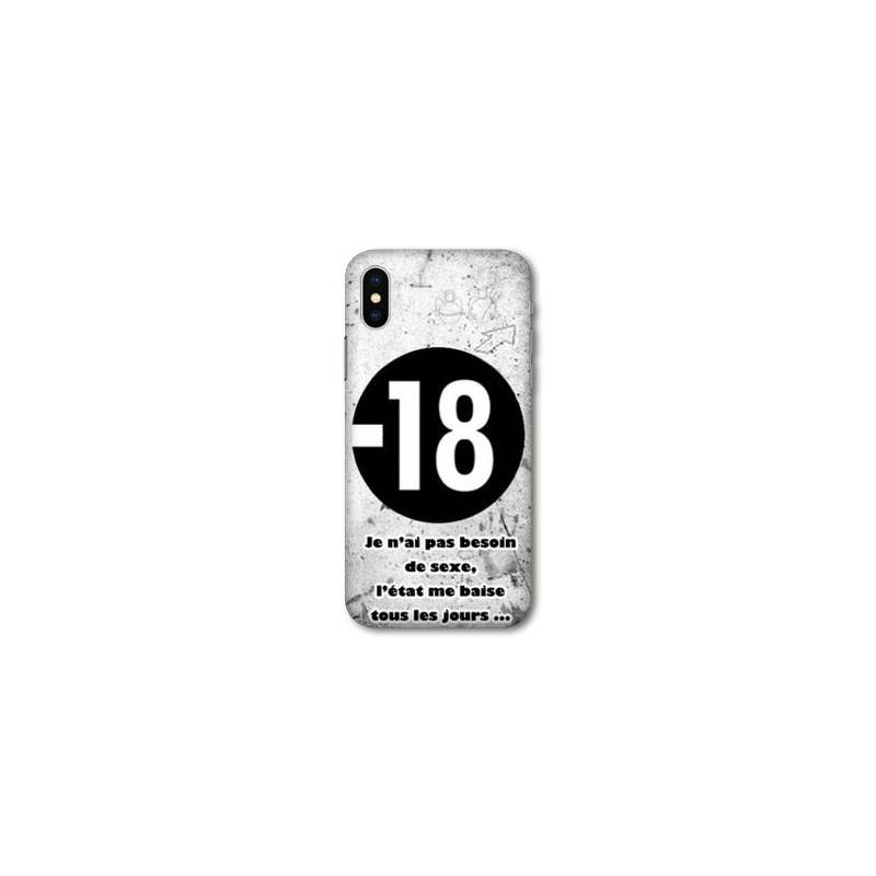 coque iphone x xs humour
