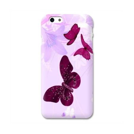 Coque Iphone 6 plus + papillons