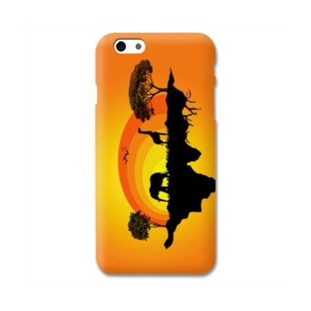 Coque Iphone 6 plus + savane