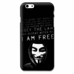 Coque Iphone 6 plus / 6s plus Anonymous