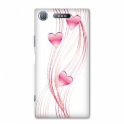 Coque Sony Xperia XZ1 COMPACT amour