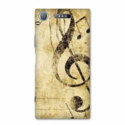 Coque Sony Xperia XZ1 COMPACT Musique