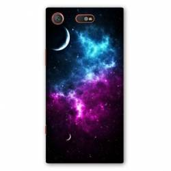 Coque Sony Xperia XZ1 COMPACT Espace Univers Galaxie