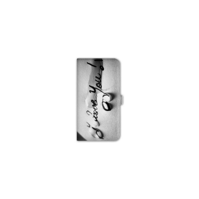 Housse portefeuille iphone 6 amour for Housse cuir iphone 6