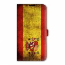 Housse cuir portefeuille Iphone 6 / 6s Espagne