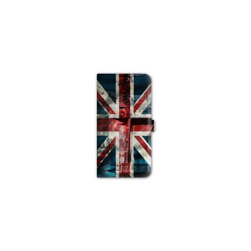 Housse cuir portefeuille Iphone 6 / 6s Angleterre