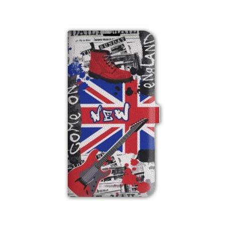Housse portefeuille cuir Iphone 6 Angleterre