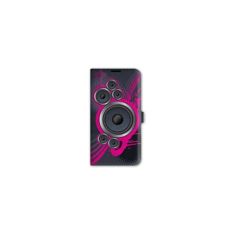 Housse cuir portefeuille Iphone 6 / 6s techno