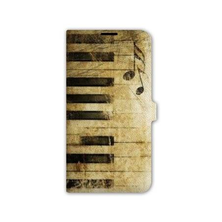 Housse portefeuille cuir Iphone 6 Musique