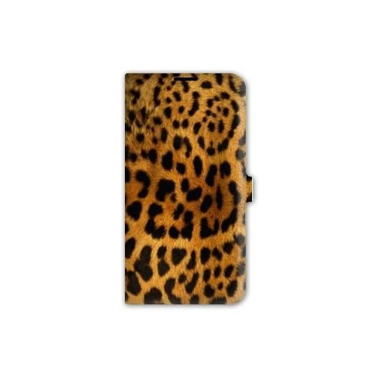 Housse cuir portefeuille pour iphone 6 / 6s felins