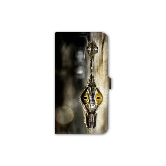 Housse cuir portefeuille Iphone 6 / 6s reptiles